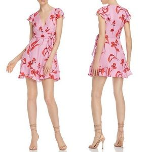 Parker Blondie Floral-Print Mini Dress